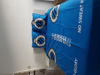 Club Brugge dekbedovertrek 220 x200 cm  2 personen