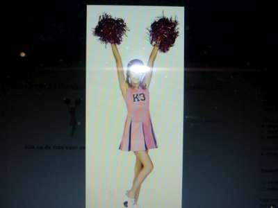 K3 Cheerleader kleedje [3-5 J] [6-8 J] [9-11 J]