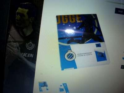 Club Brugge dekbedovertrek fcb18-011 1 persoon katoen