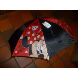Paraplu Minnie Mouse  Zwart