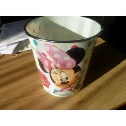Vuilbak Met Wit Minnie Mouse
